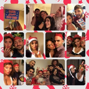 Secret Christmas party in London