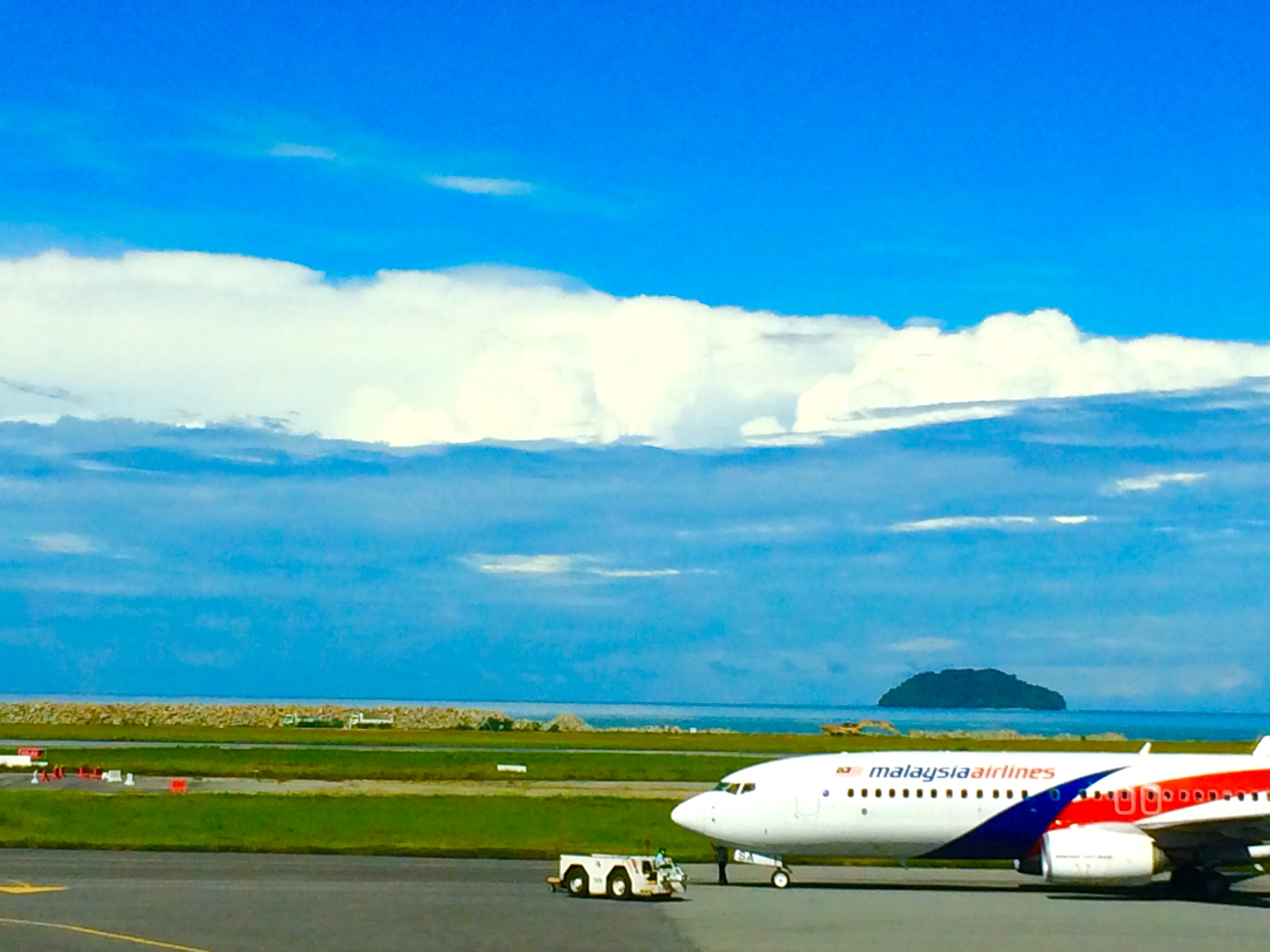 One of my many flights with Malaysia Airline