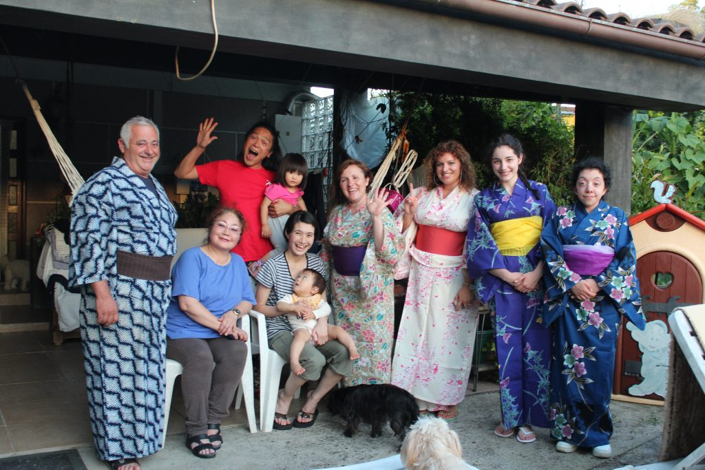 Kimono party in Portugal