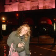 Me as a brand new Londoner at KoKo venue