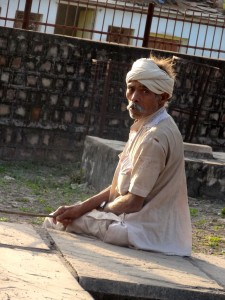 Old man from Chanderi