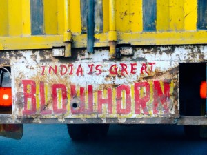 India is Great Blowhorn - TRUE fact